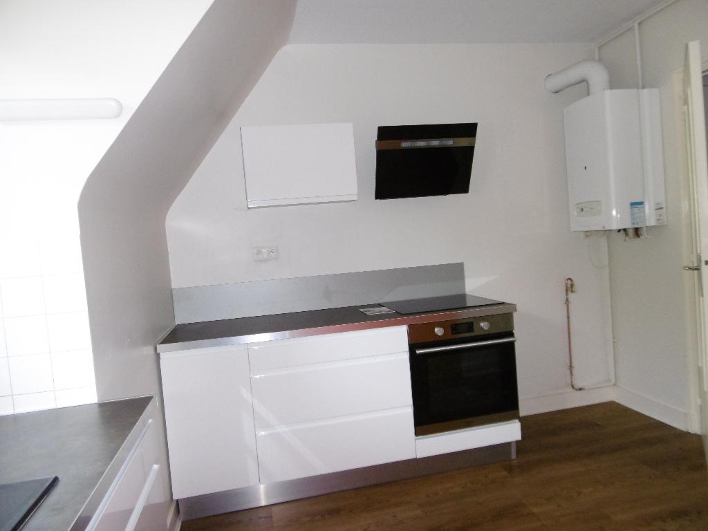 A louer Pontivy Bretagne Morbihan Appartement T3 avec cave et garage