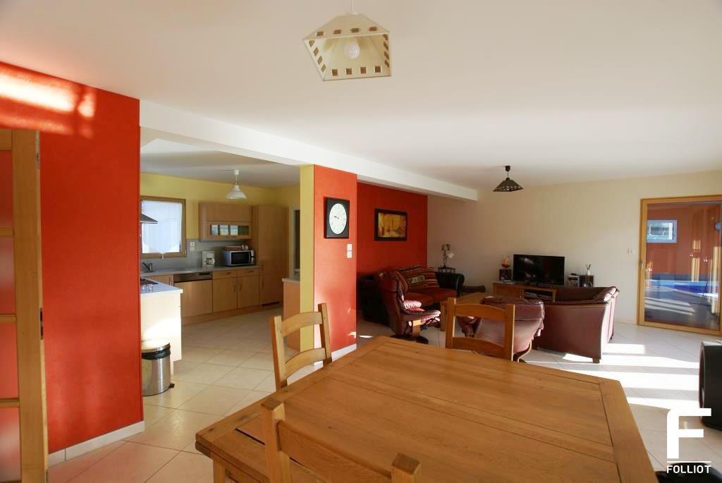 a vendre/achat maison contemporaine de 268m² 50610 JULLOUVILLE 50380