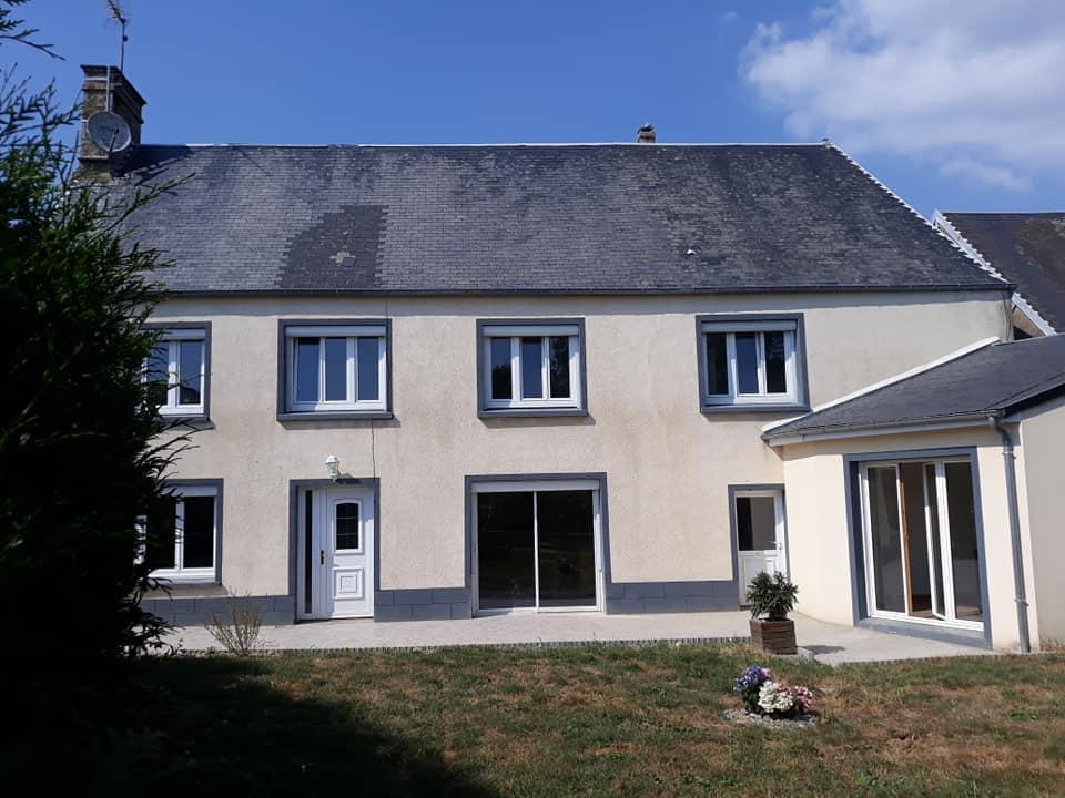 ACHAT/VENTE - Maison avec dépendances et terrain de 3ha - 50660 LINGREVILLE