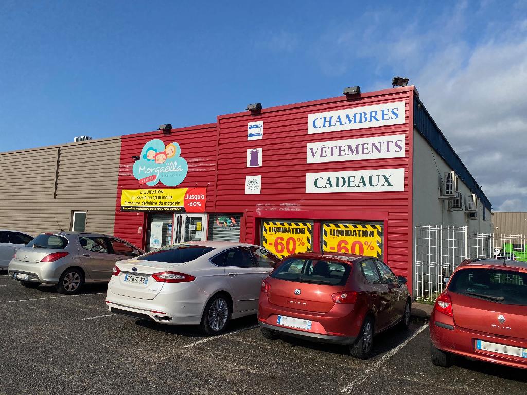 Local commercial 417 m² à louer agglomération Angoulême