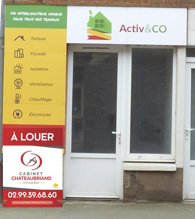 Local commercial Sens De Bretagne 17 M²