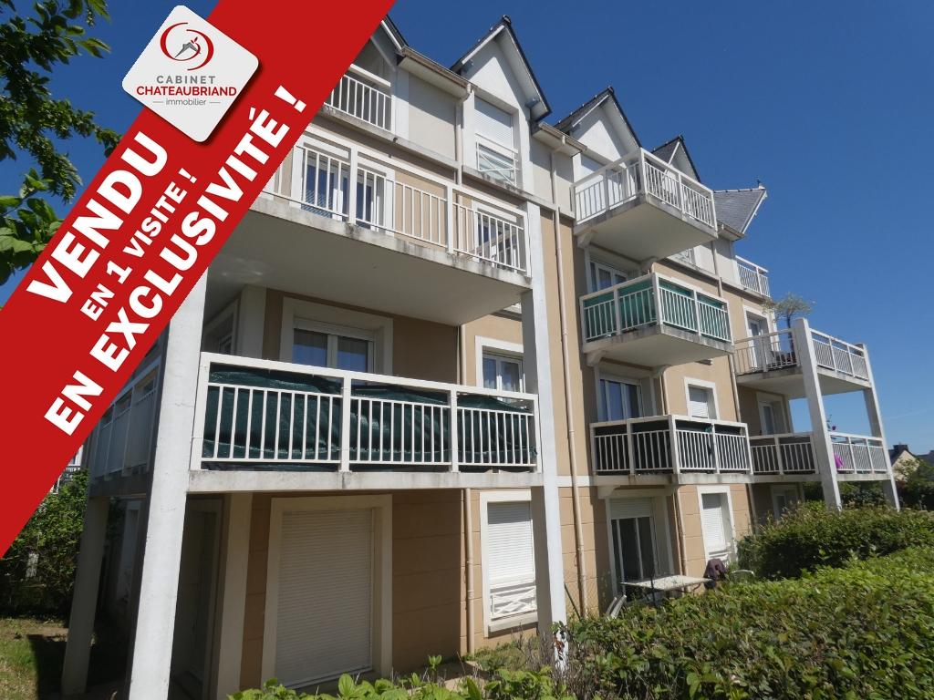 Appartement 40m2 T2 avec balcon Pleurtuit