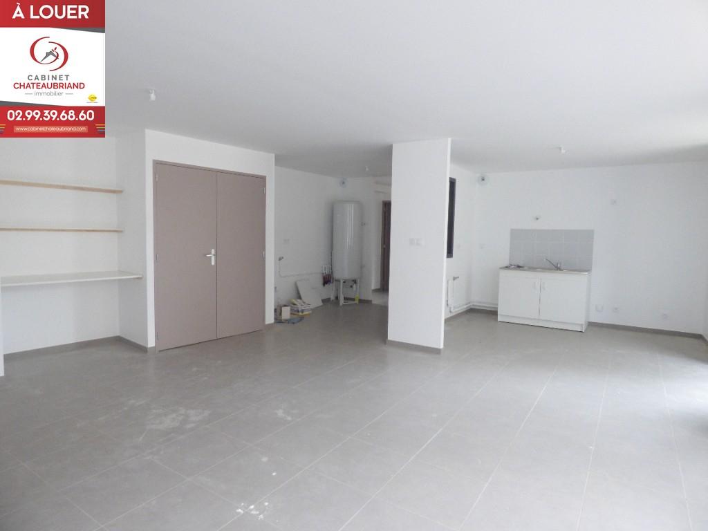 Appartement Mezieres Sur Couesnon 3 pièce(s) 80 m2