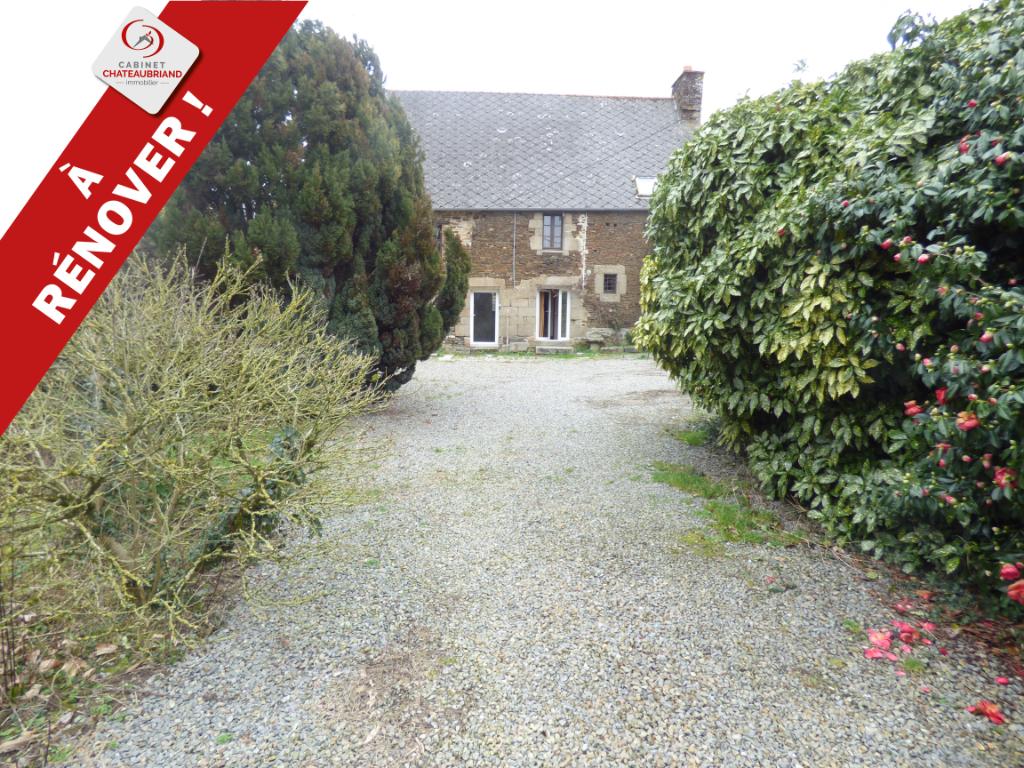 Maison Bazouges La Perouse 8 pièce(s) 124 m2 + Grange et terrain