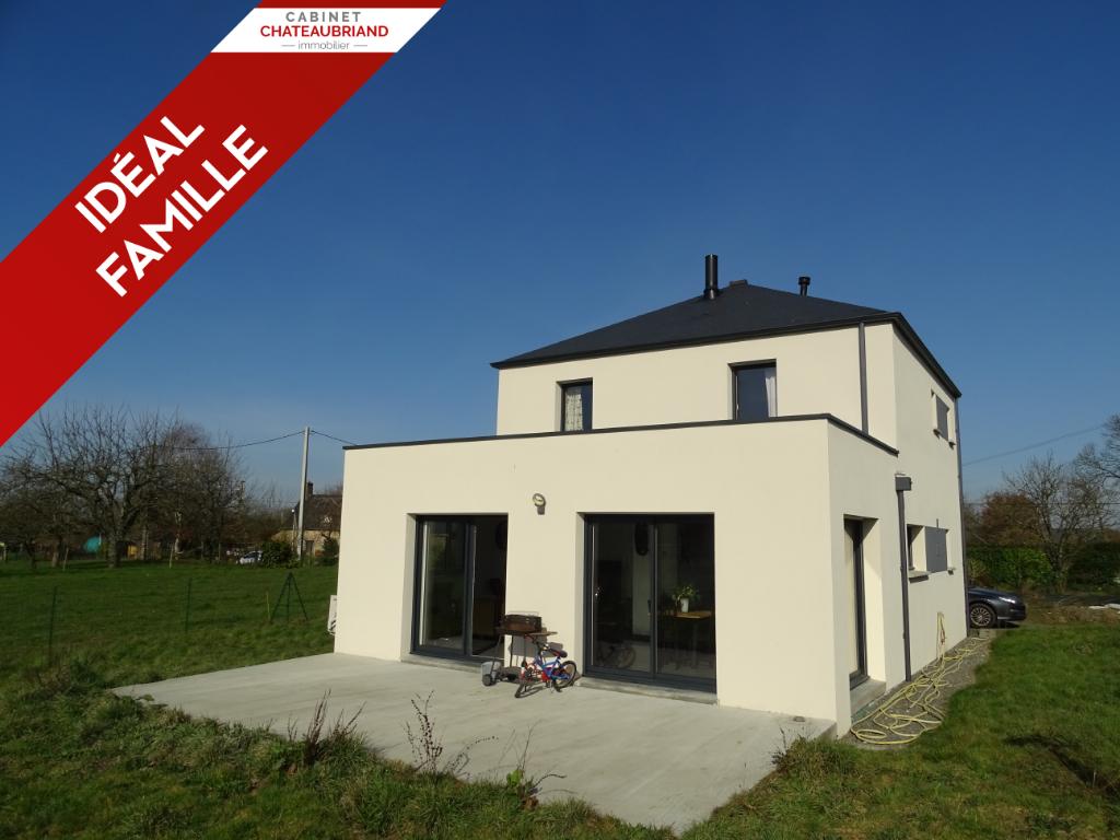 A vendre Maison Tremblay 122 m² 5 pièces 3 chambres.