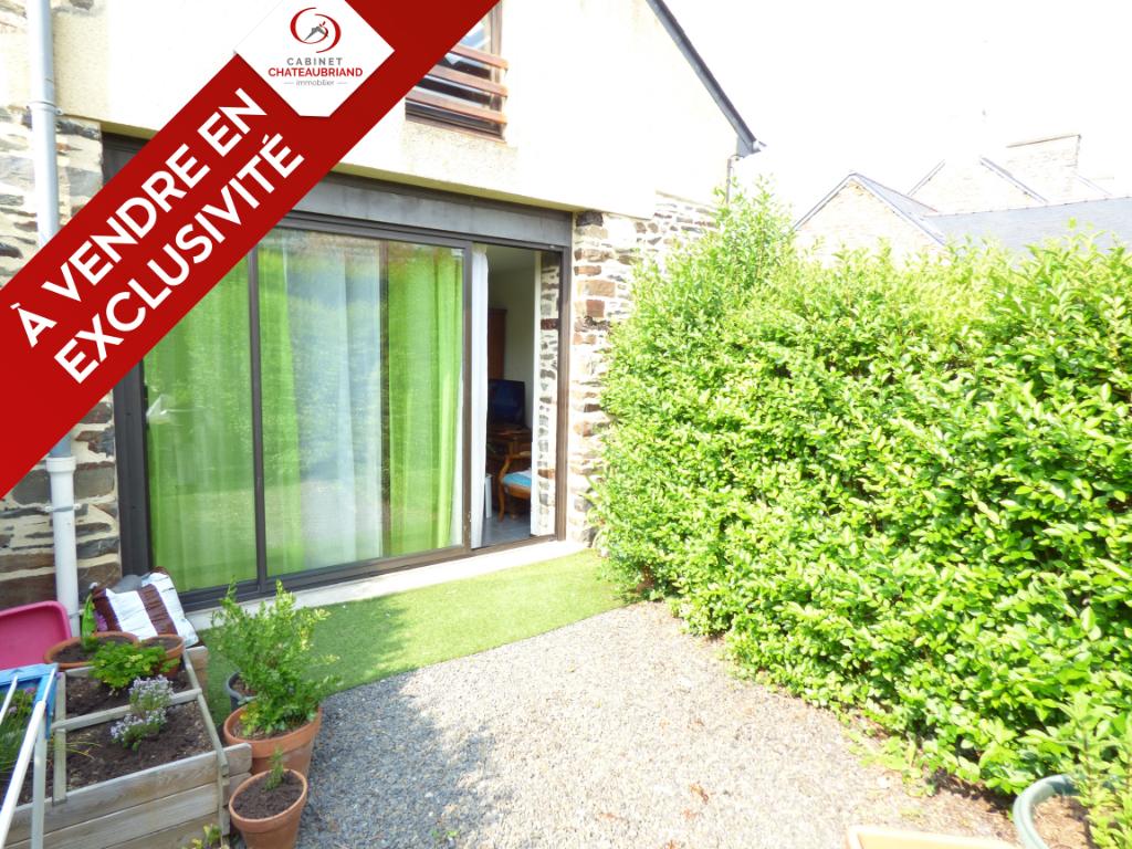 Appartement à vendre T2 Dol De Bretagne avec jardin - 2 pièce(s) - 40.00 m2