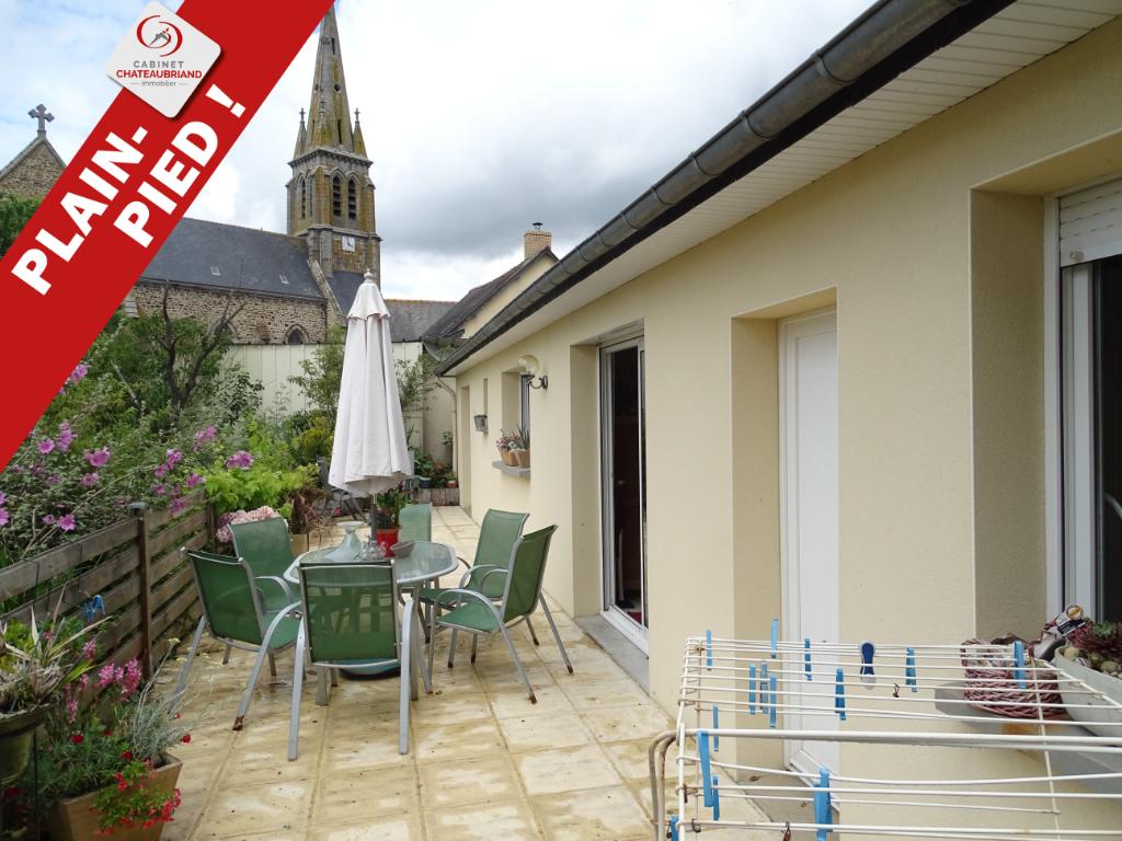 Maison plain pied, 5 MIN de Sens de Bretagne, 4 pièce(s) 74.46 m2