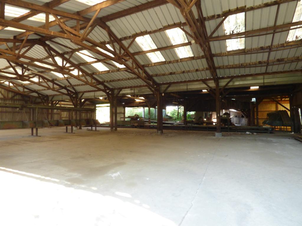 Rimou, ancien bâtiments industriels