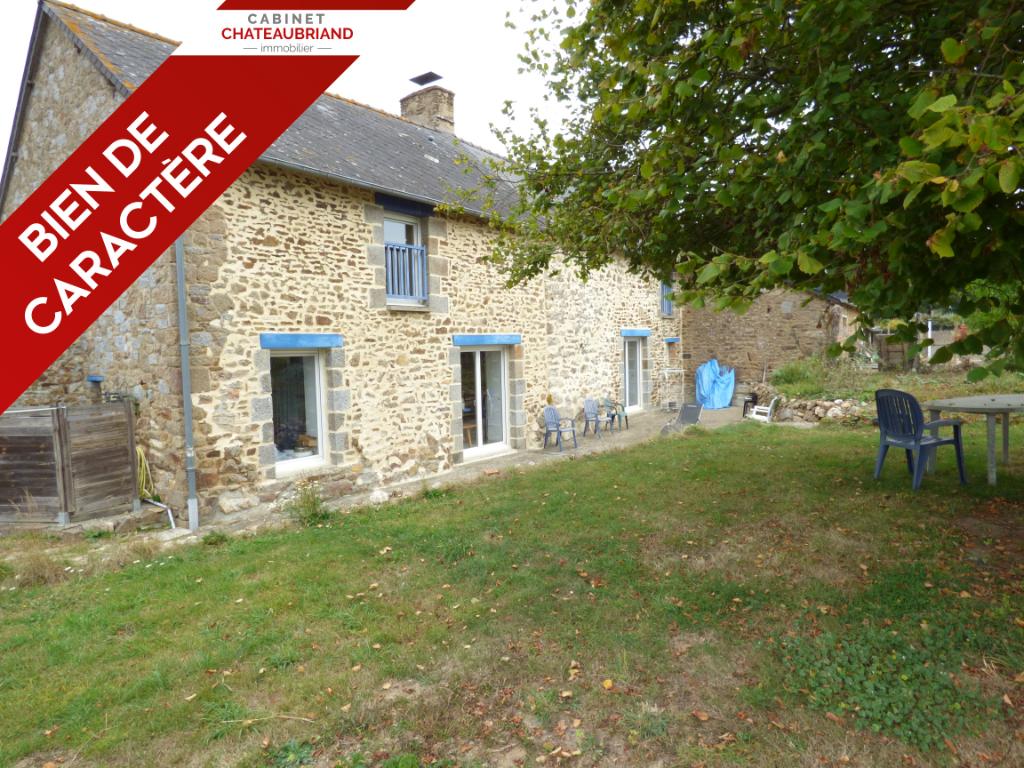 Maison en pierre Mezieres Sur Couesnon - 8 pièce(s) - 140 m2