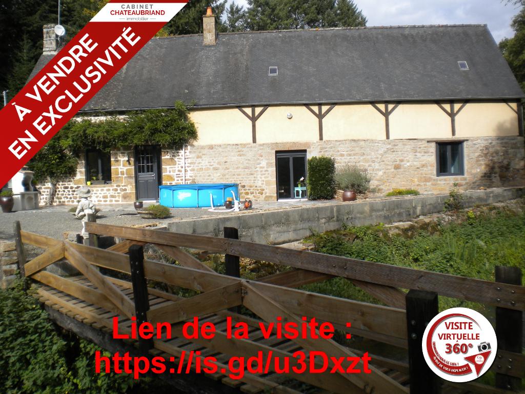 Maison ENVIRONNEMENT IDYLLIQUE 40 Min de Rennes