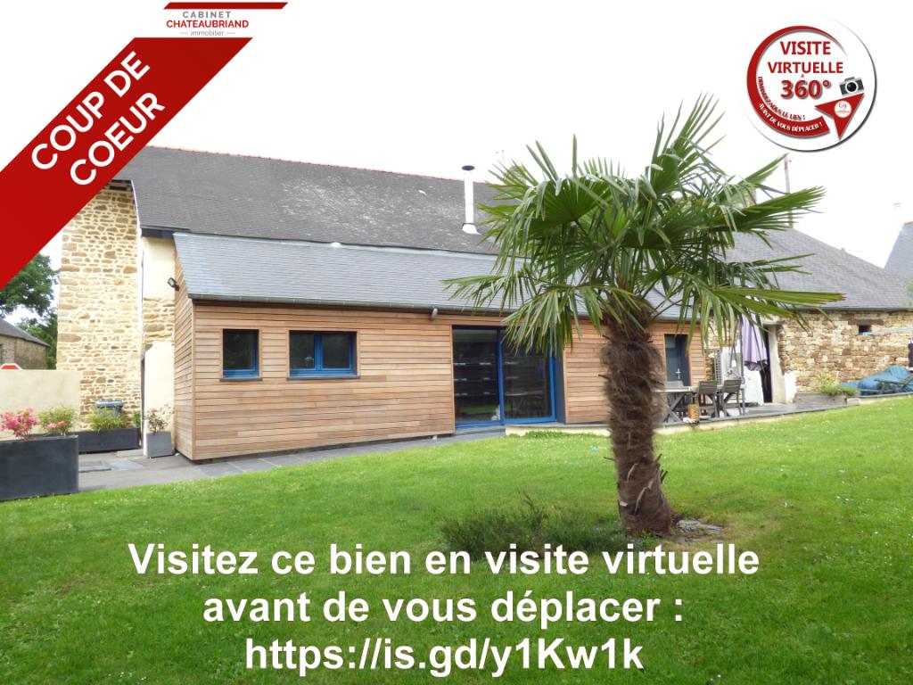 Longère indépendante Sens De Bretagne sur 570 m² de terrain