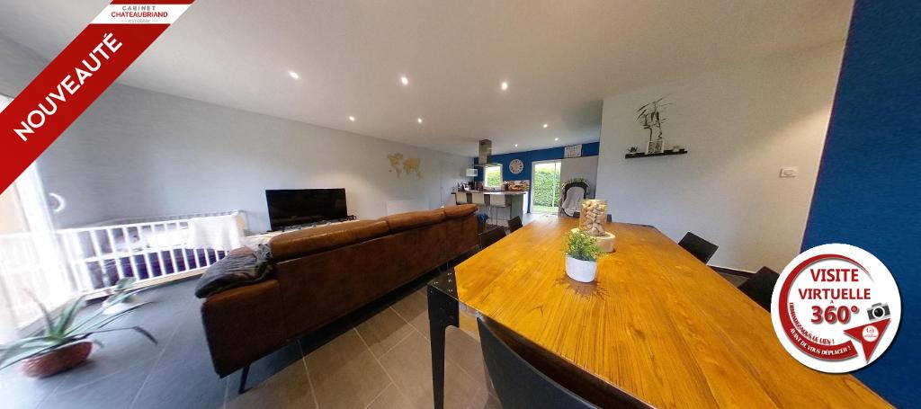 Spacieuse maison de plain-pied de 150 m²  au sol.
