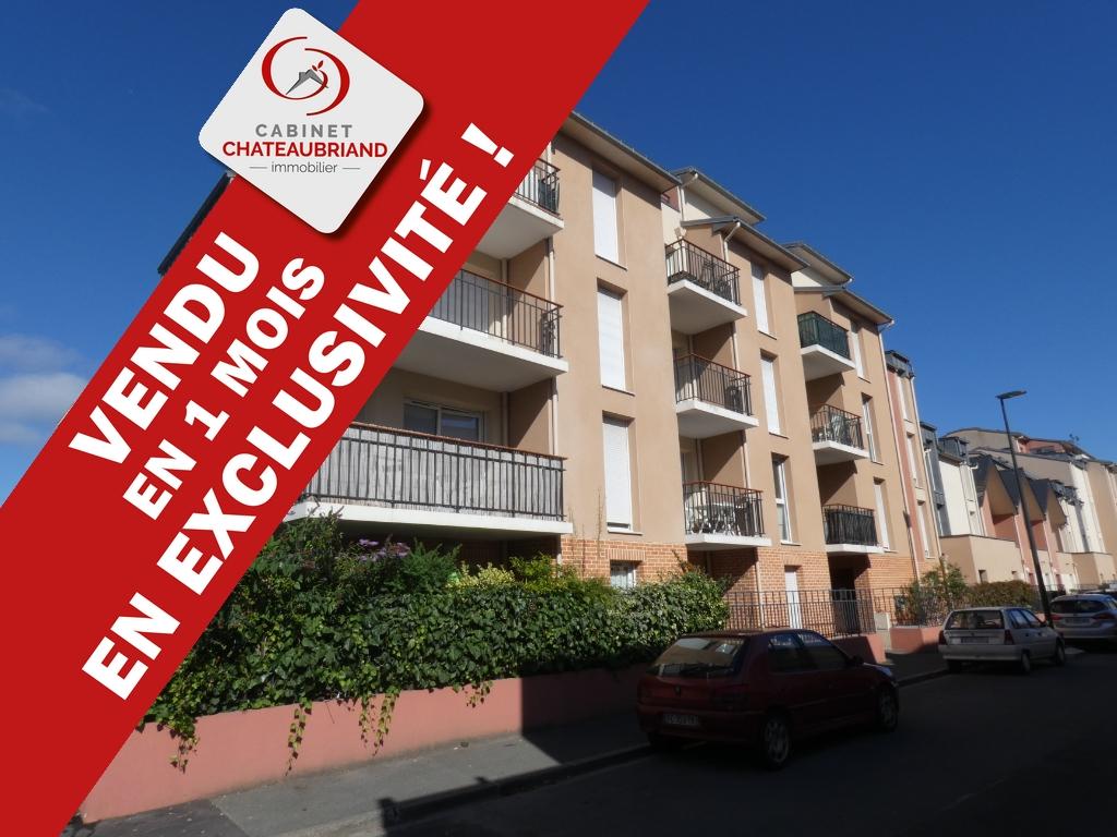 VENDU EN EXCLUSIVITE ET MOINS D'UN MOIS !! Appartement T3 de 60m2, avec garage quartier gare.