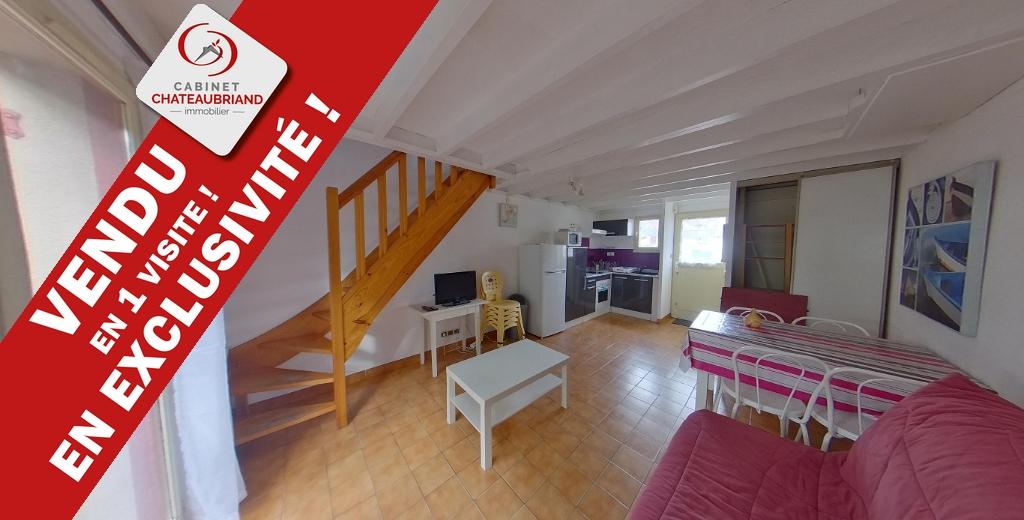 VENDU EN 1 VISITE !!!!! Maison/appartement, 2 chambres, Domaine de La Varde, à 200 mètres à pieds de la mer !