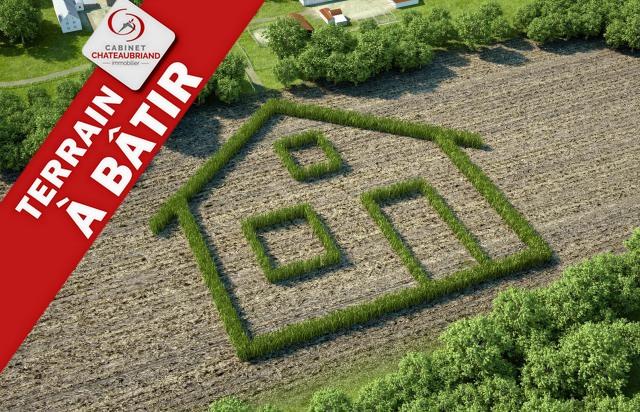 Terrain constructible à vendre La Boussac 832m2
