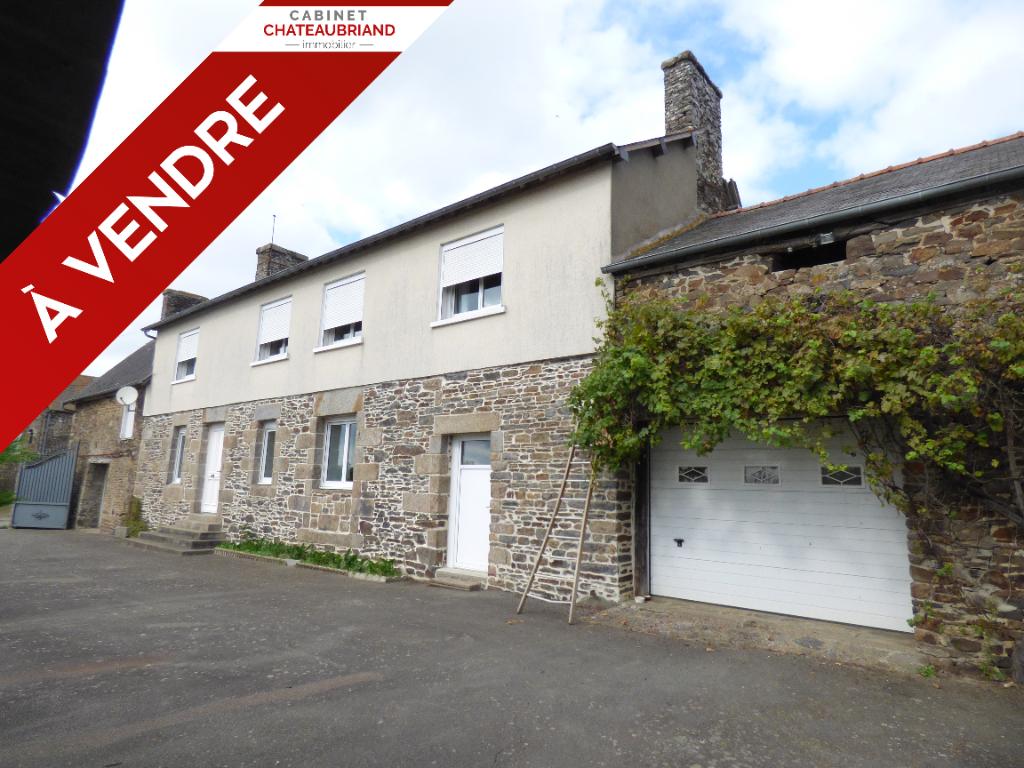 Maison  à vendre Baguer Pican 150m² habitables, 4 chambres, terrain 4962m²