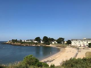 BILLIERS terrain à bâtir proche plage