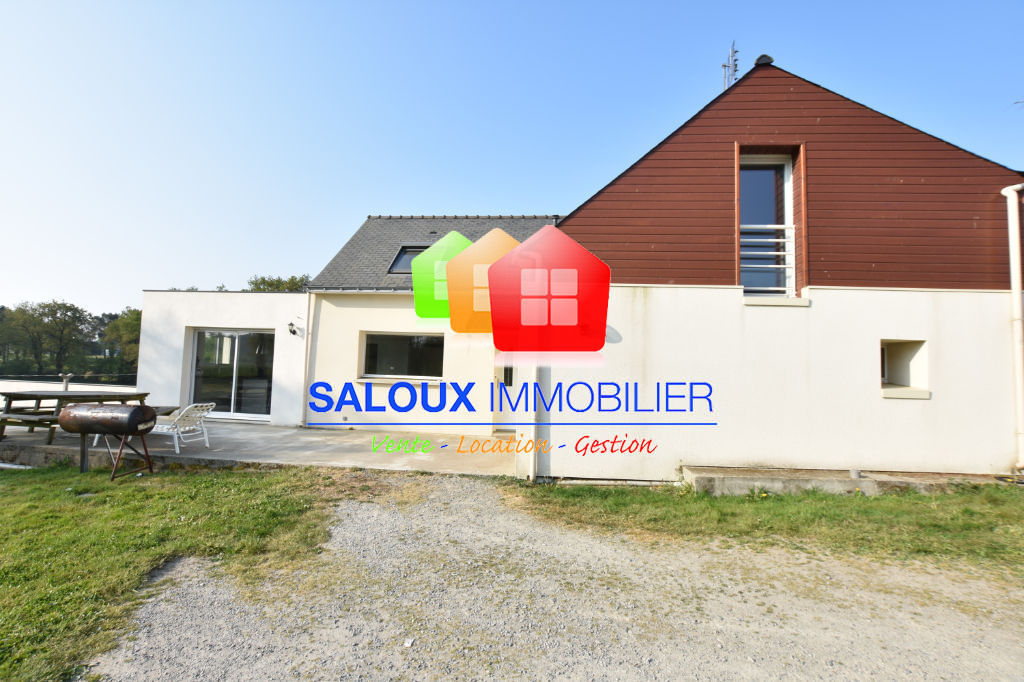 MUZILLAC- Campagne - Maison 125 m² - 2083 m² de terrain