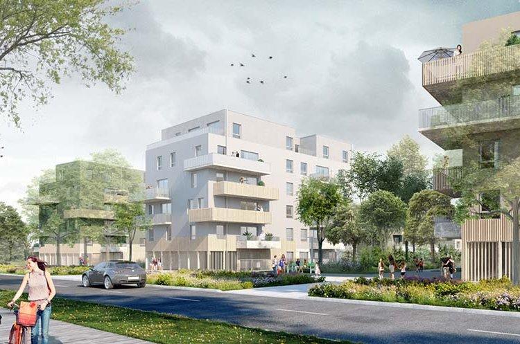 Appartement Nantes 3 pièce(s) 62.5 m2 NEUF