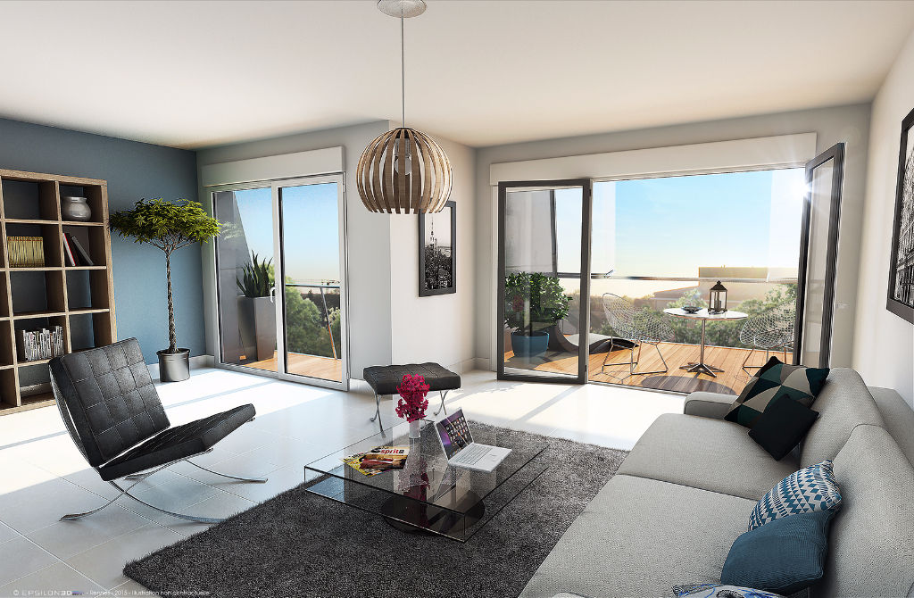 Appartement Rennes 3 pièce(s) 62.25 m2
