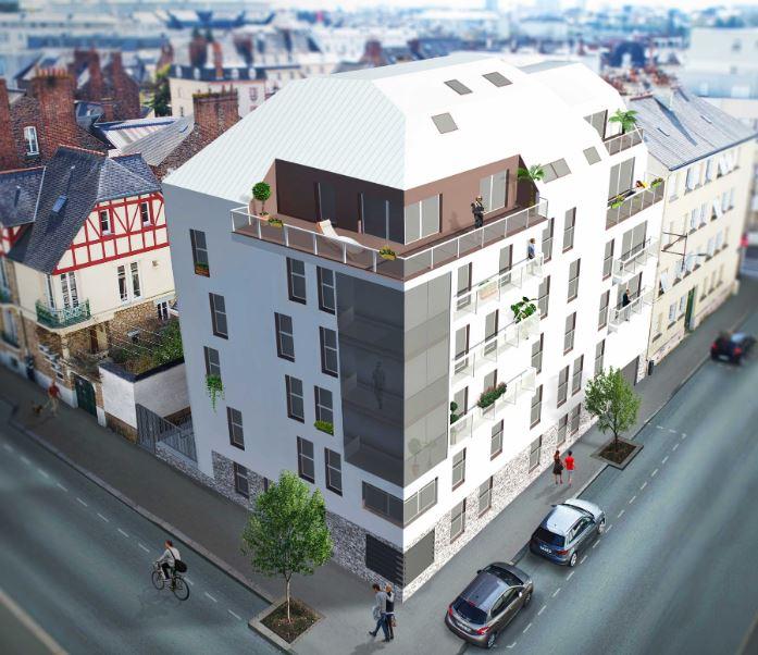 Appartement Rennes 5 pièce(s)