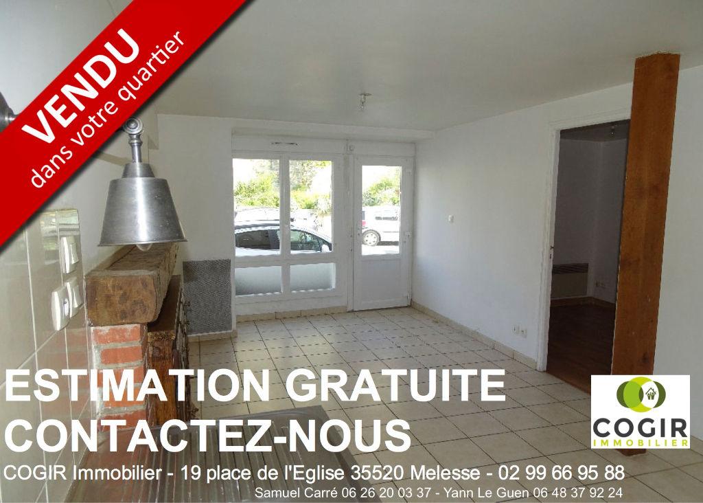 Appartement Melesse 2 pièce(s) 49.22 m2