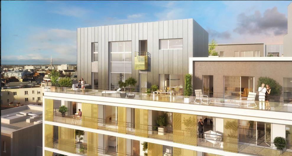 Appartement Rennes 5 pièce(s) 128000 m2