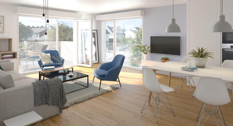 Appartement Thorigne Fouillard 4 pièce(s) 97 m2