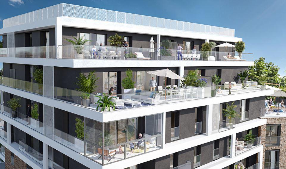 Appartement Rennes 2 pièce(s) 39.80 m2