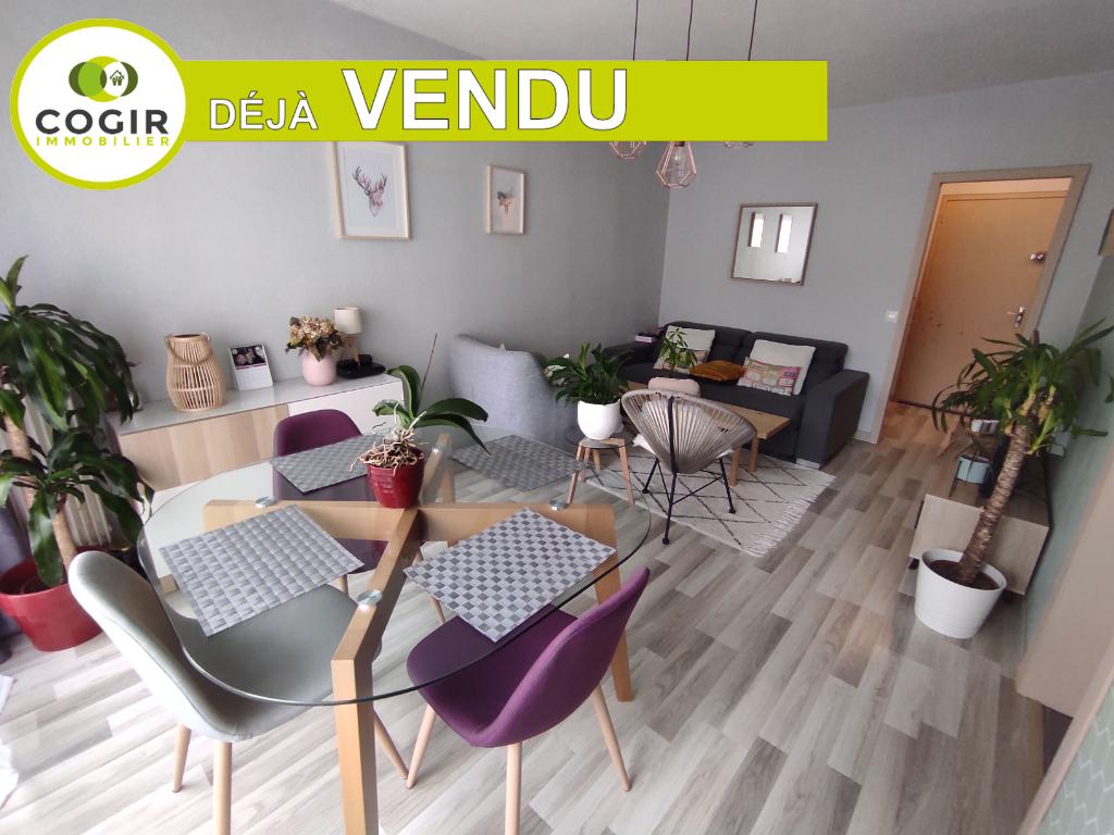 Appartement Rennes - Bréquigny - Allee de Malnöe 3 pièces 64 m2