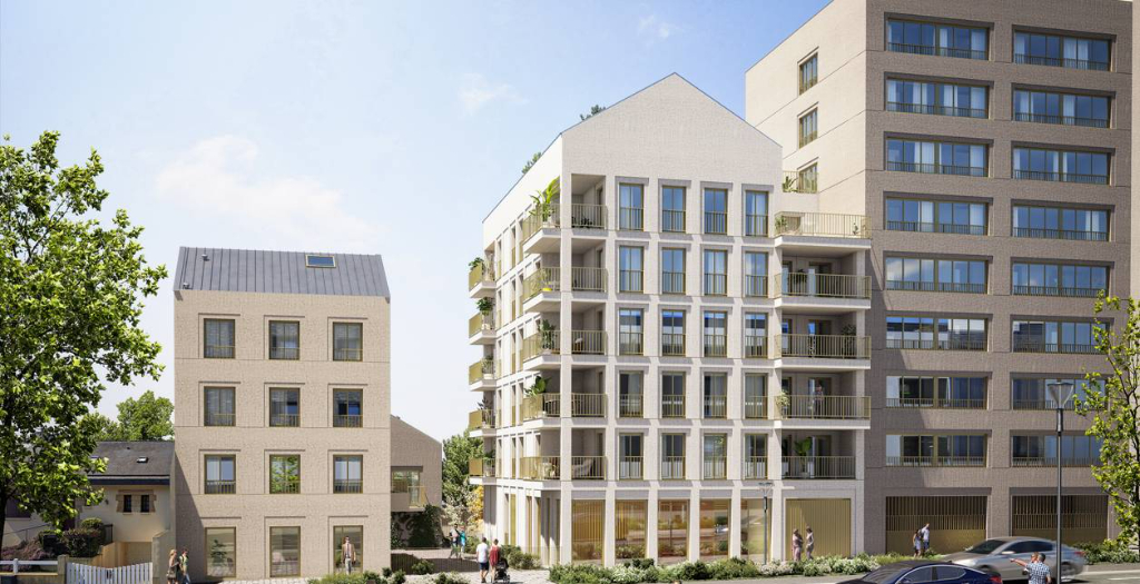 RENNES Sacré-Coeurs - Appartement 3 pièces 61.58 m²