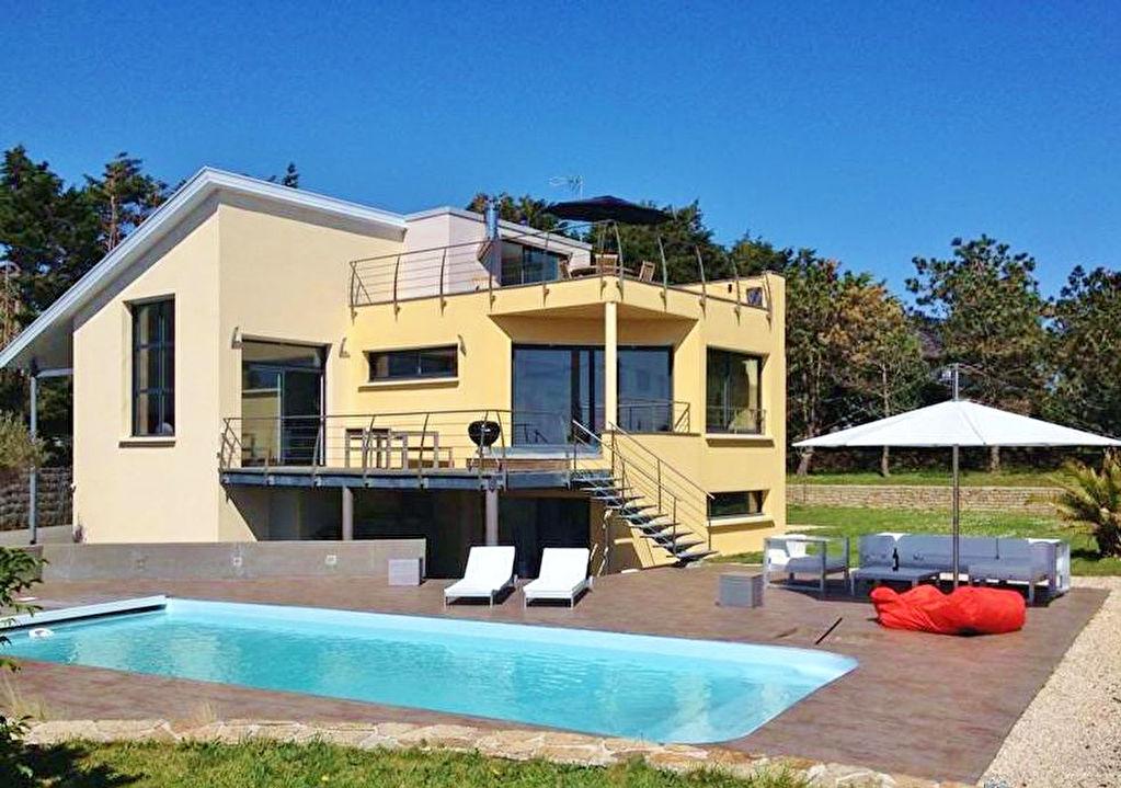 Maison d'architecte Trégunc vue sur mer 1192000€