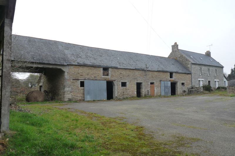 Corps de ferme Melgven 620 m2