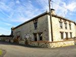 2 Maisons en P.Apps. (F3 et F5); Vaste Grange; 2 Garages; Terrasses et Cour