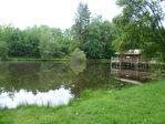 Beau lac de pêche sur environ 6 hectares