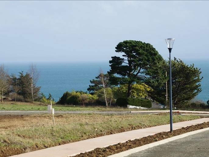 A vendre Terrain 1001 m² vue mer Binic