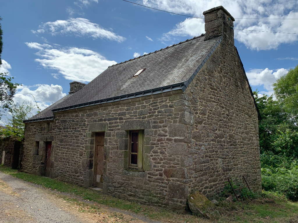 Maison en pierre à rénover, Quistinic centre