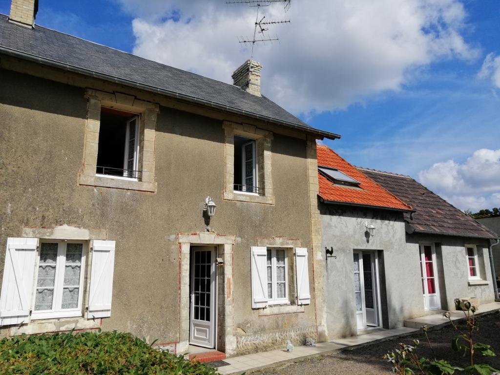 A 8 kms du Molay Littry , au calme : maison 5 pièce(s) 120 m2