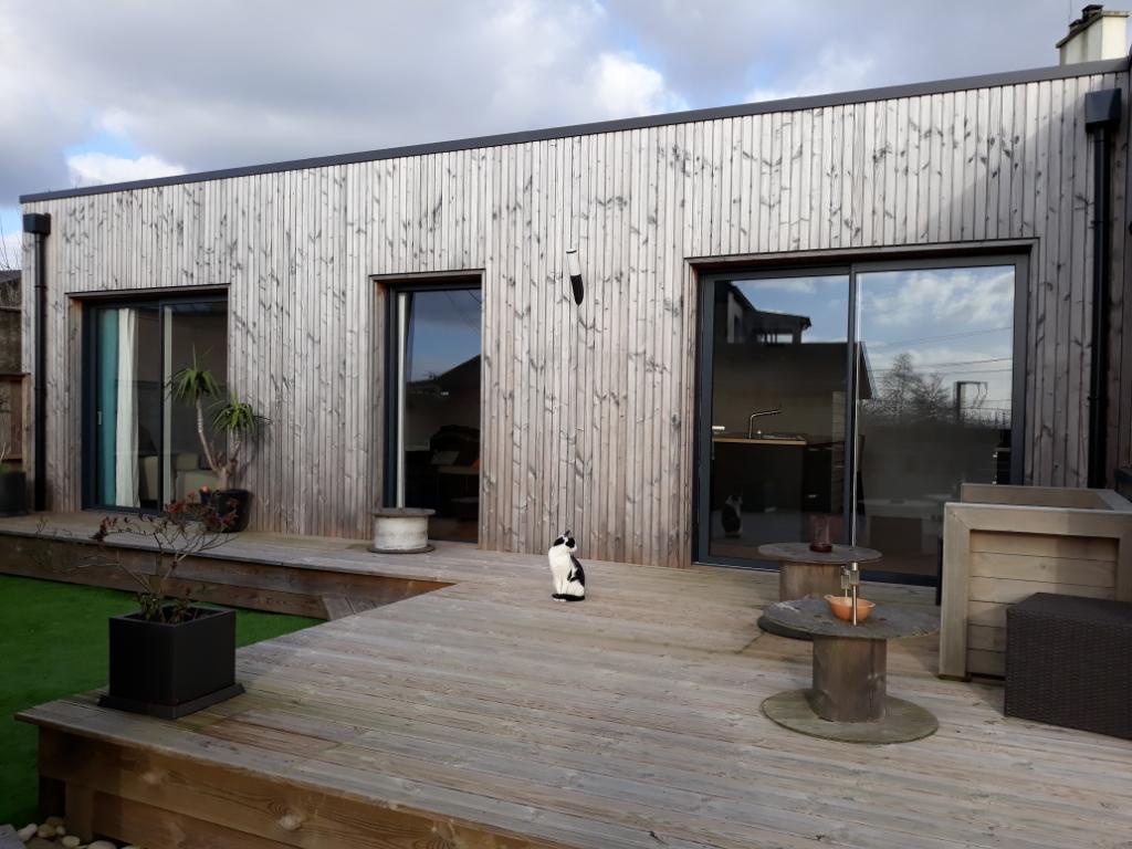 VENDUE PAR L\' AGENCE Maison Année 30 avec extension bois
