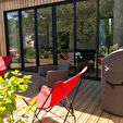 Proposer cette annonce : Maison en pierre rénovée avec extention bois de 200 m² environ à 5minutes de Quimper