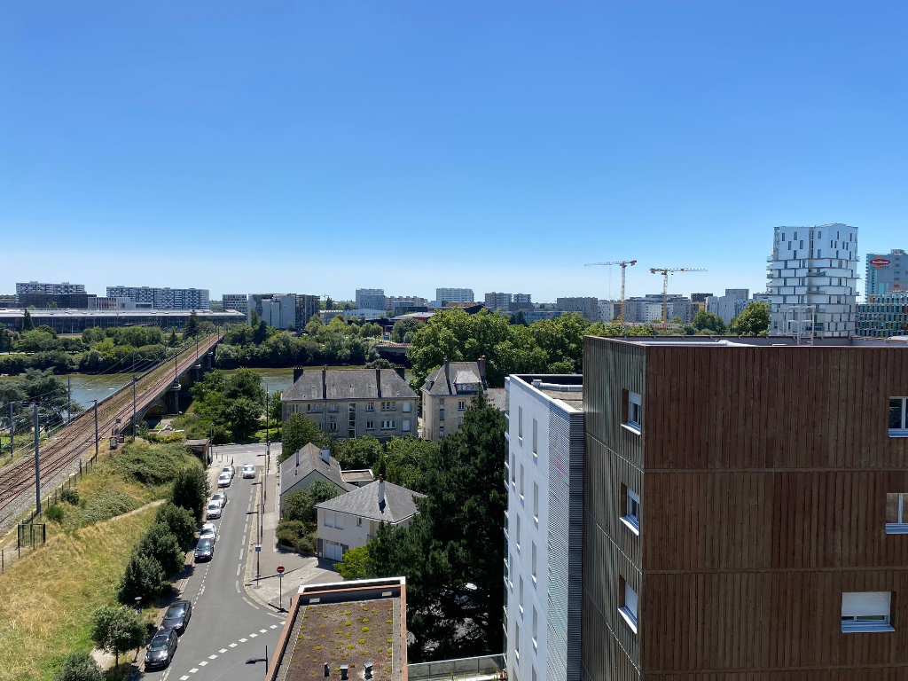 Nantes gare sud - appartement 3 pièces