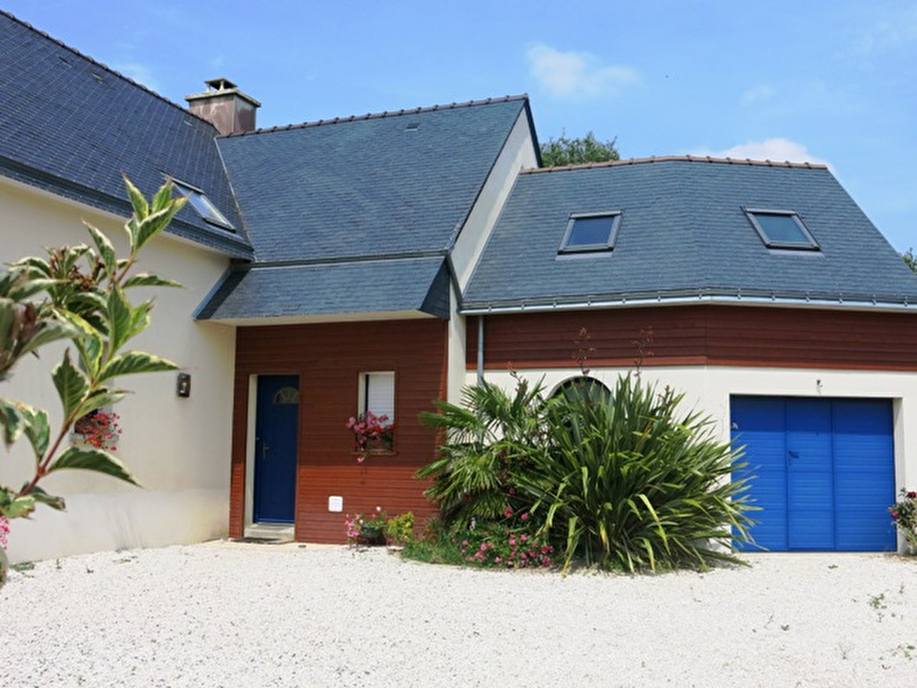 Maison 5 chambres, 132 m² habitables, garage, VUE SUR VILAINE à vendre 56760 PENESTIN MORBIHAN SUD