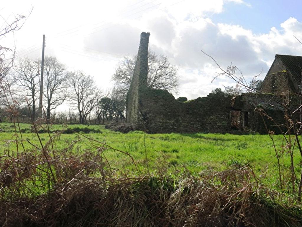 Entre HERBIGNAC et LA CHAPELLE DES MARAIS, un terrain à bâtir de 490 m² avec ruine en pierres