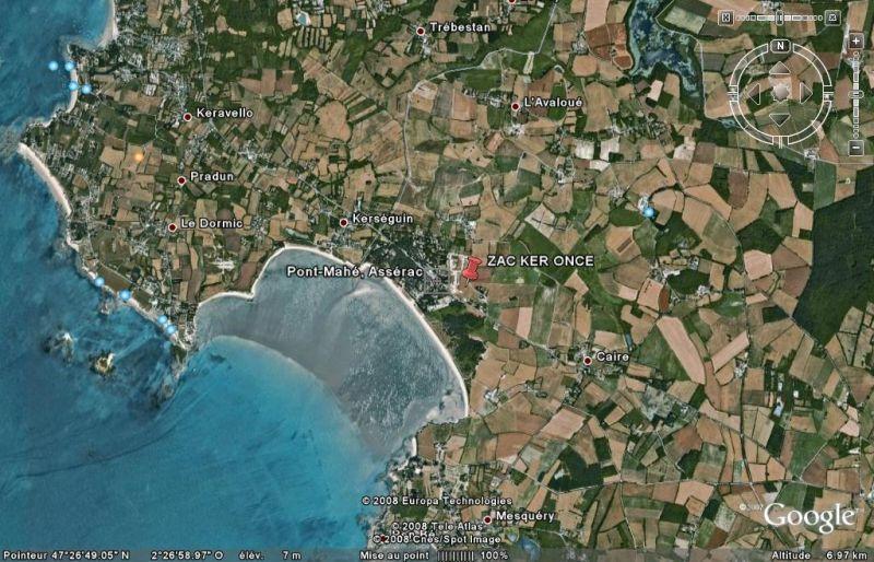 Terrain Asserac 461 m2