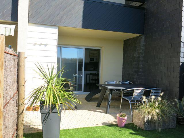 Appartement 2 pièces très bon état avec jardin privatif à vendre proche mer  56760 PENESTIN commune littorale MORBIHAN SUD
