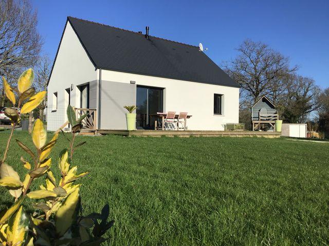 Maison neuve de plain pied 2 chambres grand terrain A VENDRE 56130 FEREL
