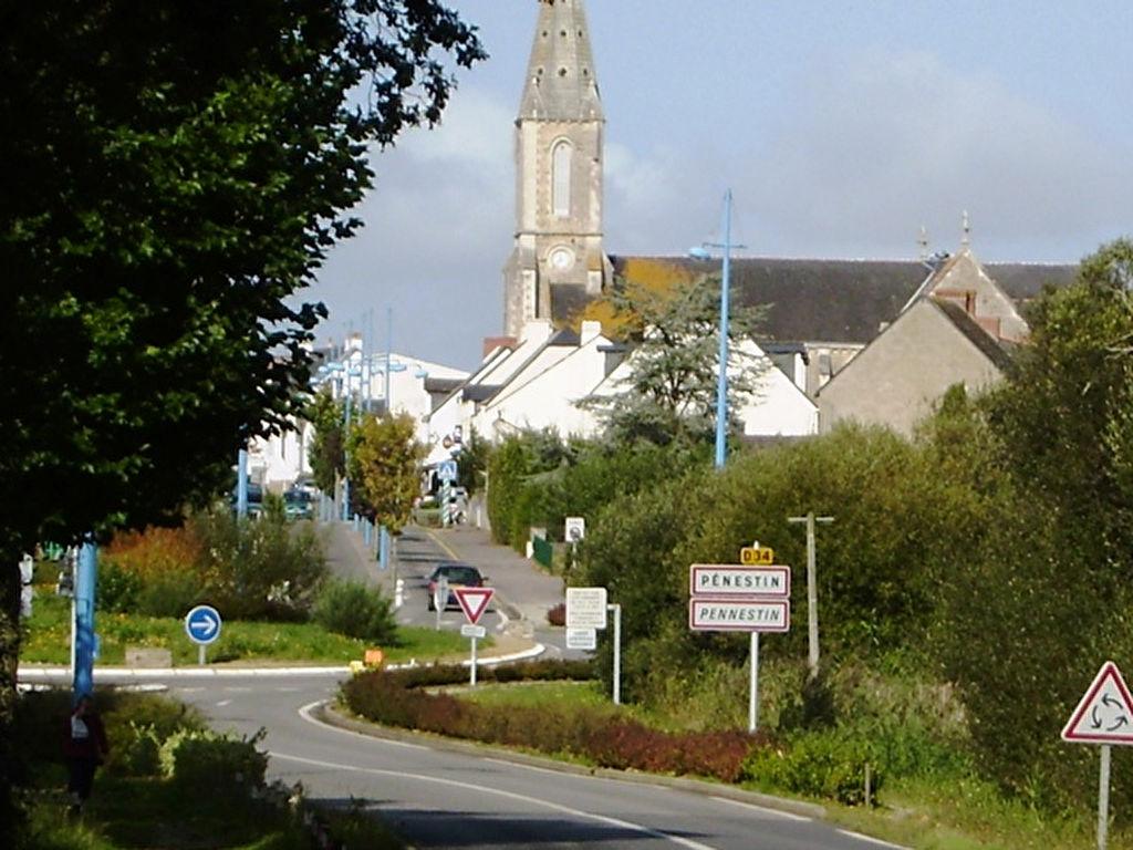 Terrain constructible a vendre a Penestin, ville cotiere du Morbihan sud