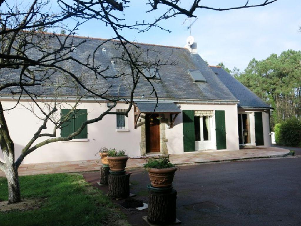 Maison à vendre Nivillac 5 chambres 192 m2 parc boisé de 4 730 m² morbihan 56