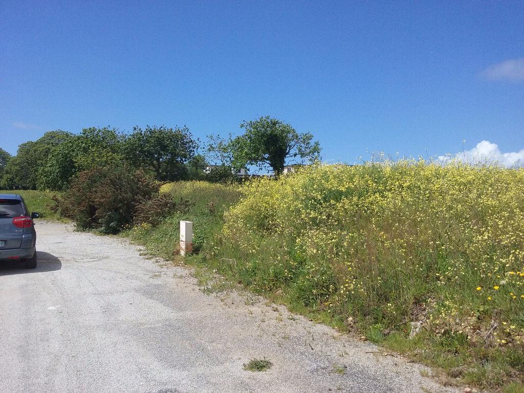 Terrain viabilisé Plougonvelin 800 m2 secteur de LESMINILY