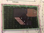 TERRAIN AVEC PROJET DE CONSTRUCTION SUR LANILDUT 1003 m2